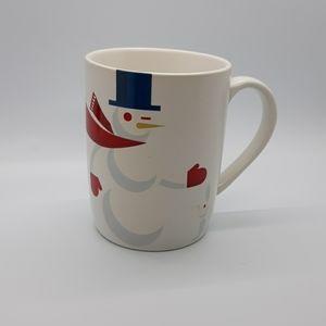 Starbucks 2012 Christmas Snowman Bunny mug